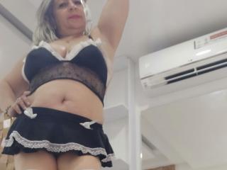AdictyMature live striptease